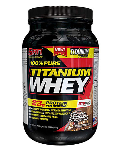 100% Pure Titanium Whey 2Lbs Chocolate