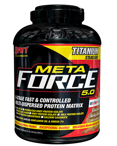 Meta Force 5.0 5Lbs Chocolate