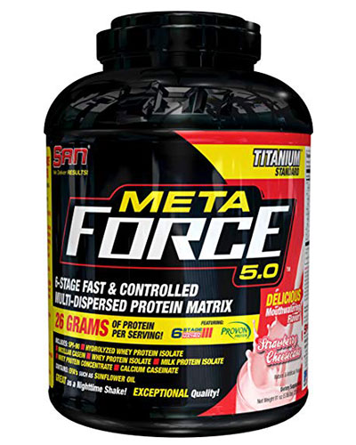 Meta Force 5Lbs Strawberry Cheese