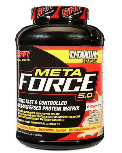 Meta Force 5Lbs Vanilla Almond