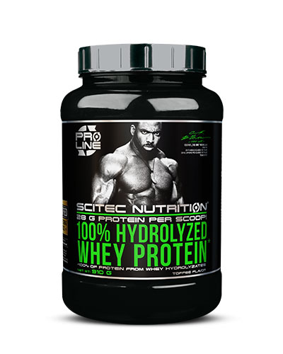 100% Hydrolyzed Whey Protein 910gr Toffee