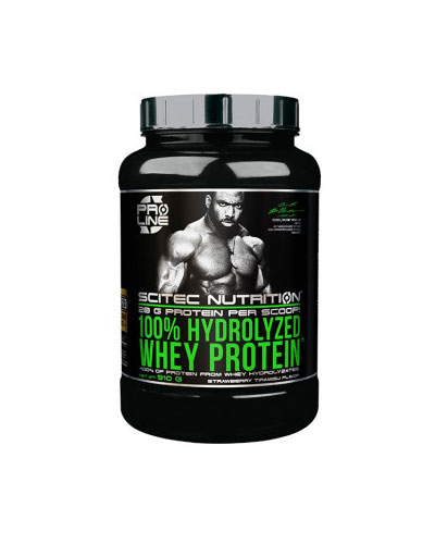 100% Hydrolyzed Whey Protein 910gr Strawberry Tiramisu