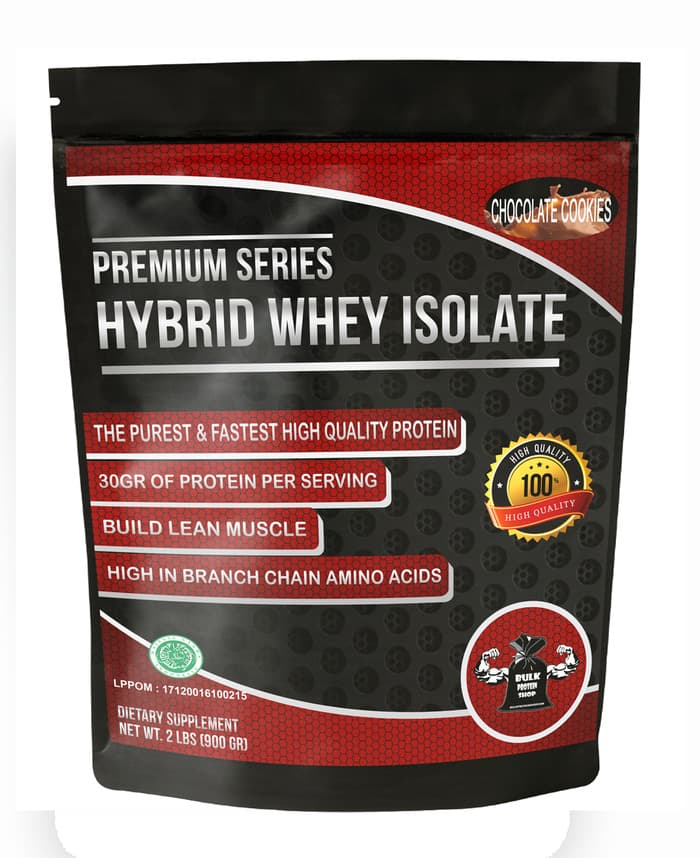 Hybrid Whey Isolate 2Lbs Coklat