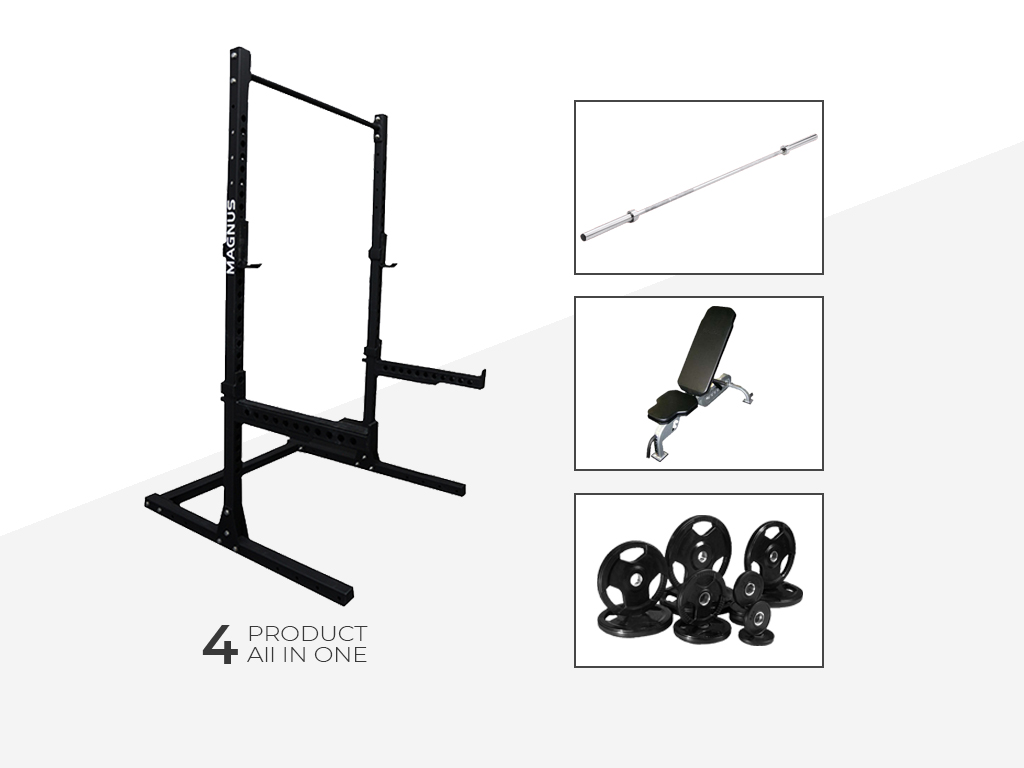 SQUAT STAND GYM PACKAGE