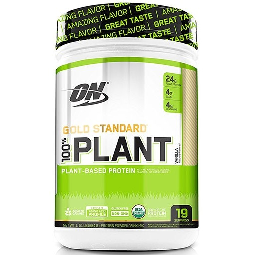 Gold Standard 100% Plant Based Protein 1.5Lbs Vanilla