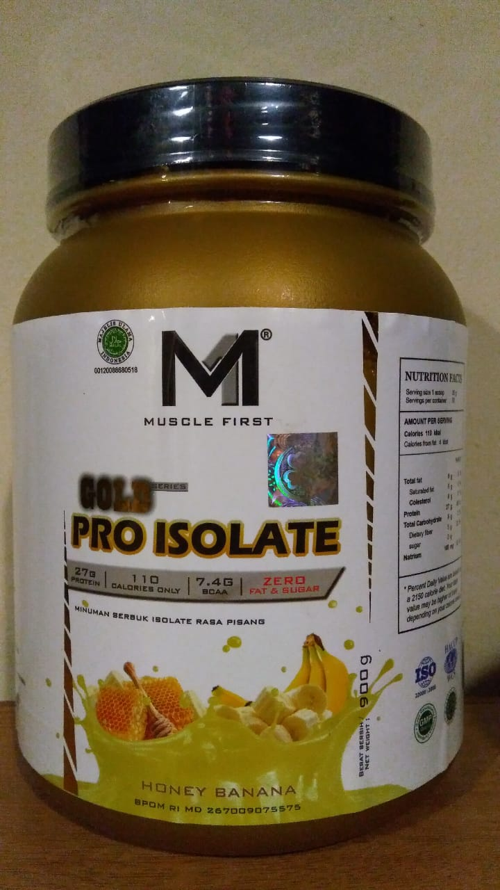 Pro Isolate 900Gr Honey Banana