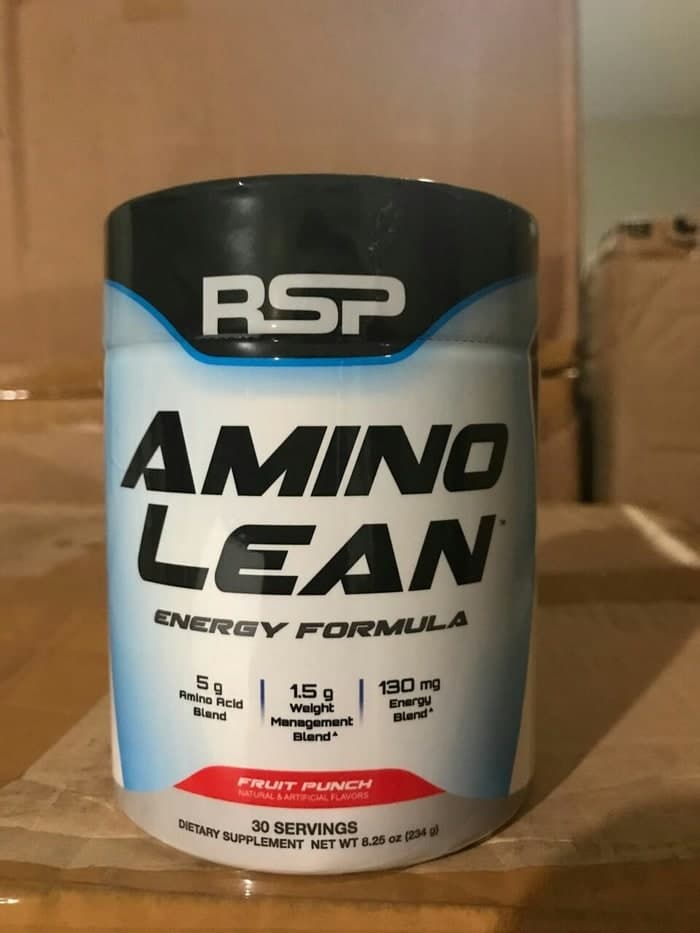 Amino Lean 30 Serving Fruit Punch