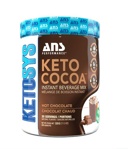 Keto Cocoa 20 Serving ( Ketogenic Fat Burner + Energy)