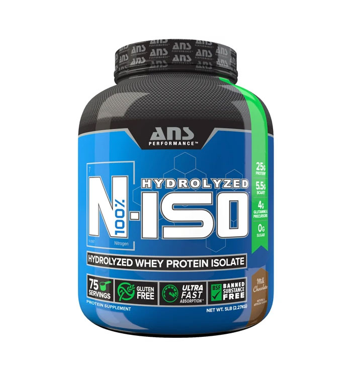 N Iso 4 lbs Hydrolized Whey Protein Isolate Chocolate
