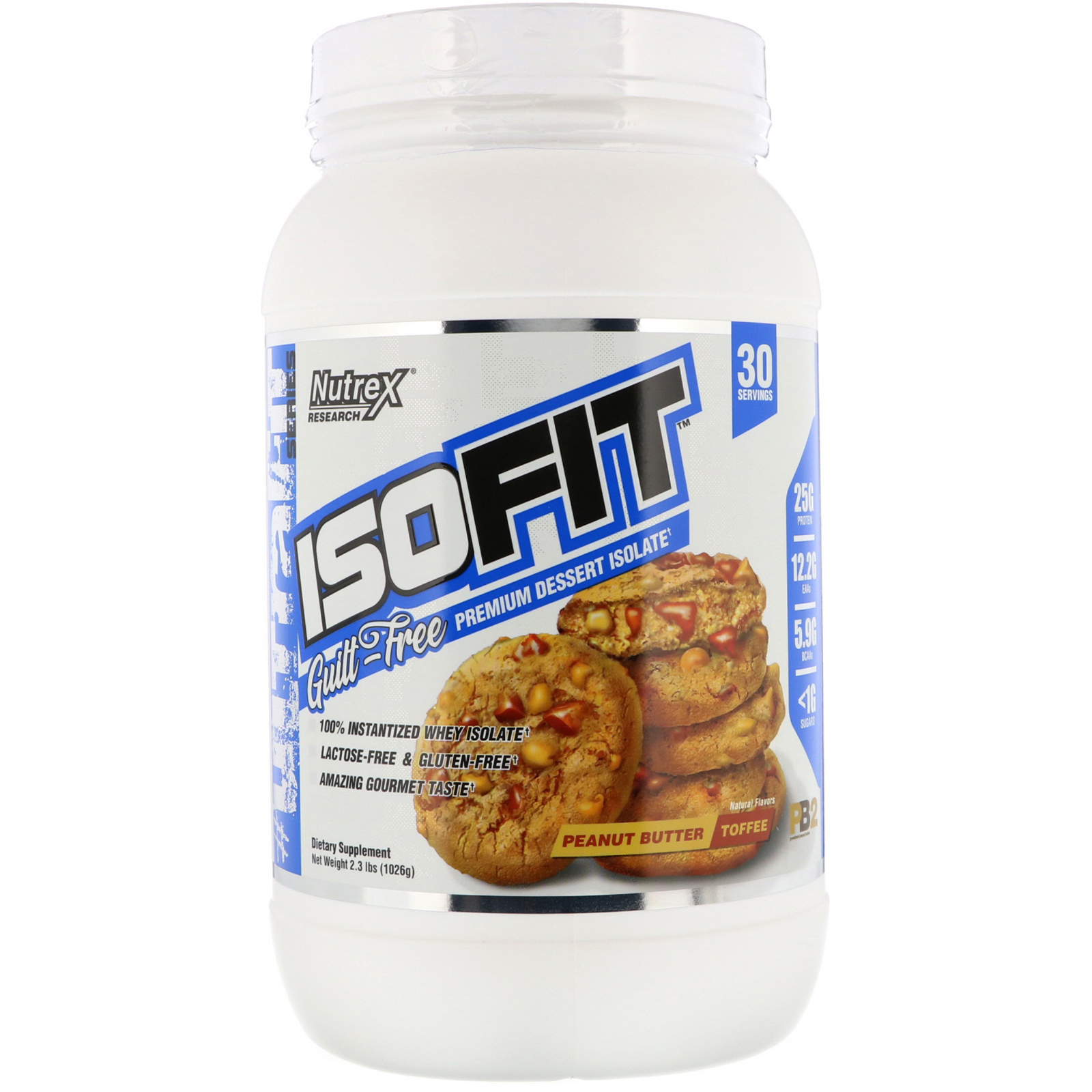 Iso Fit 2Lbs Peanut Butter