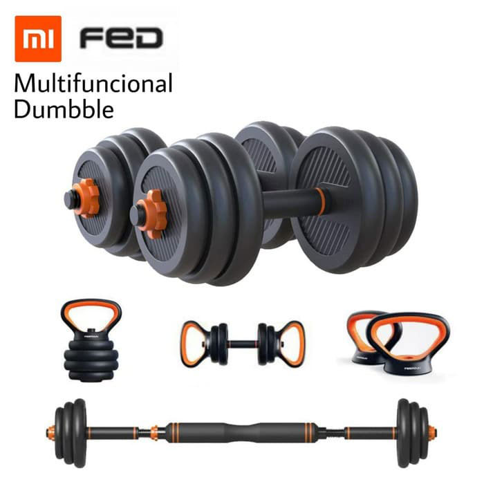 FED Multifuncional Dumbble- Home Fitness Barbel 20kg