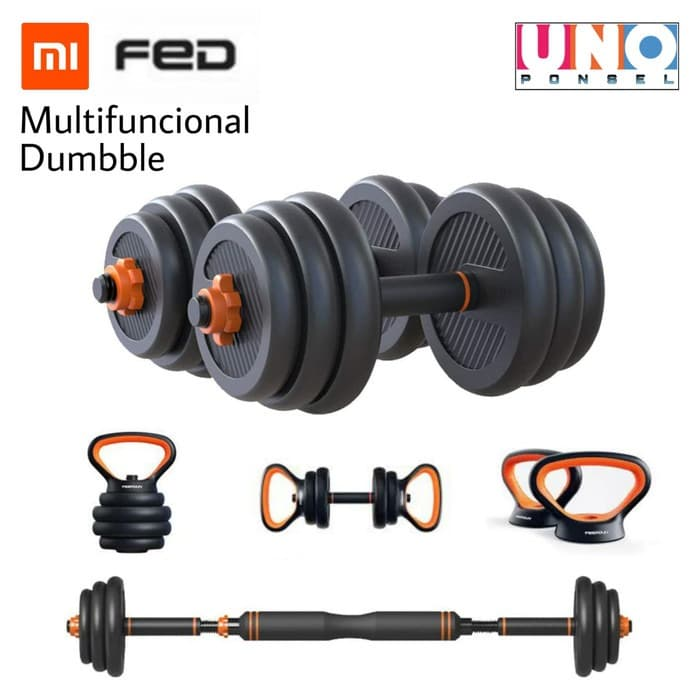 FED Multifuncional Dumbble- Home Fitness Barbel 30kg