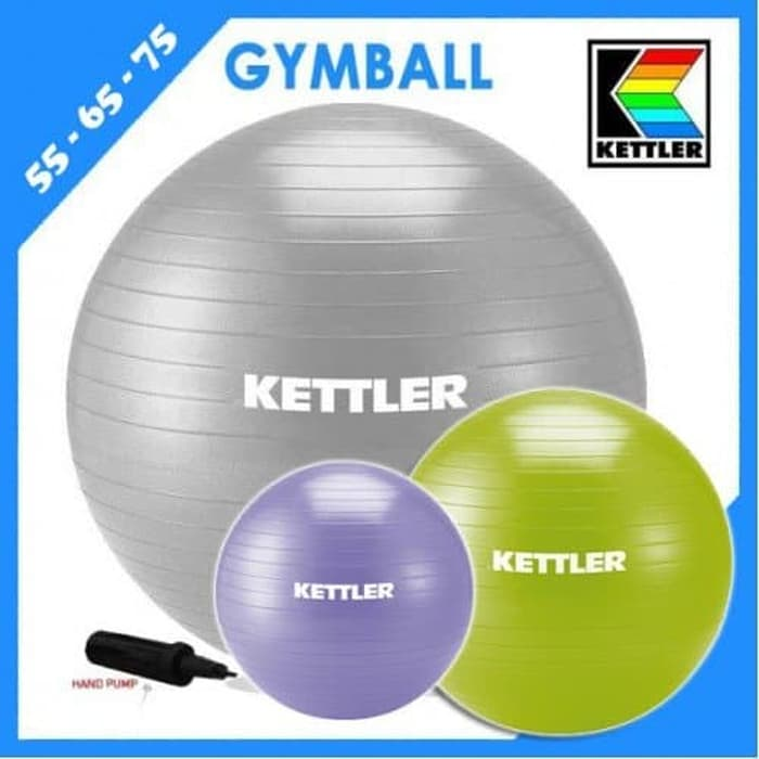 Gym Ball Kettler 55cm original yoga pilates