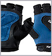 1270 G2 Gloves, black, blue (M)