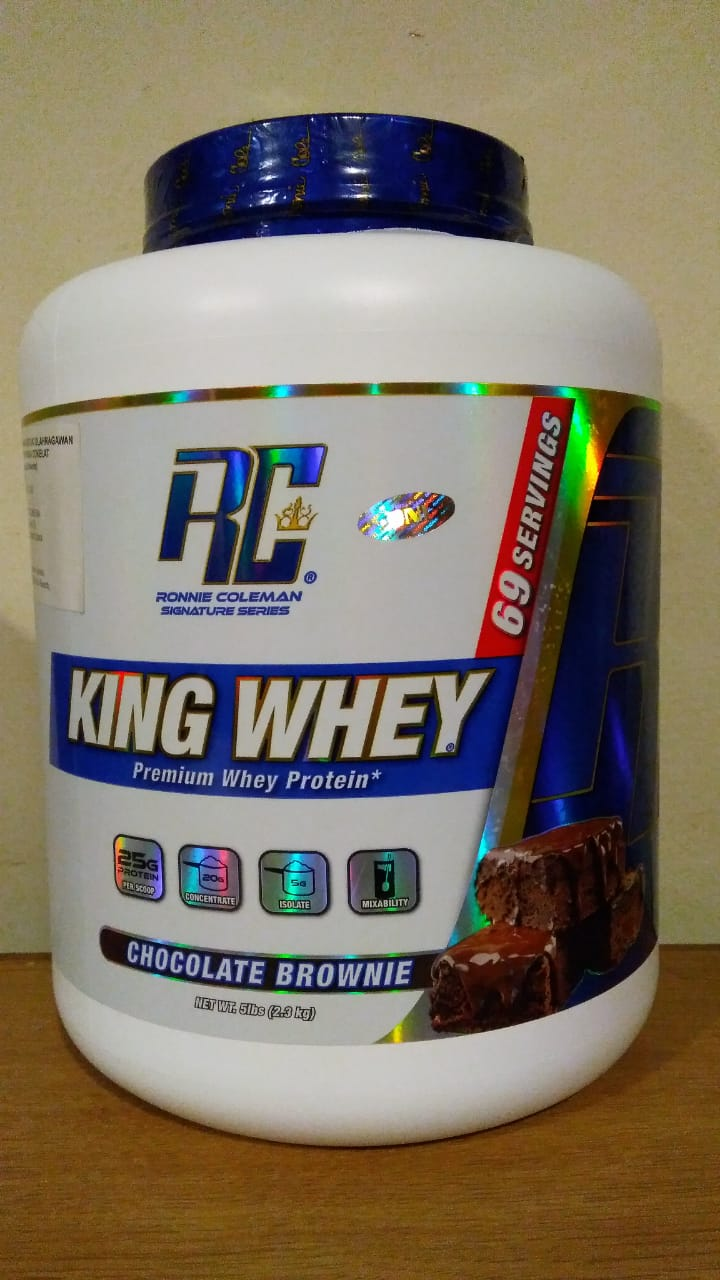 King Whey 5Lbs Cocholate Brownie