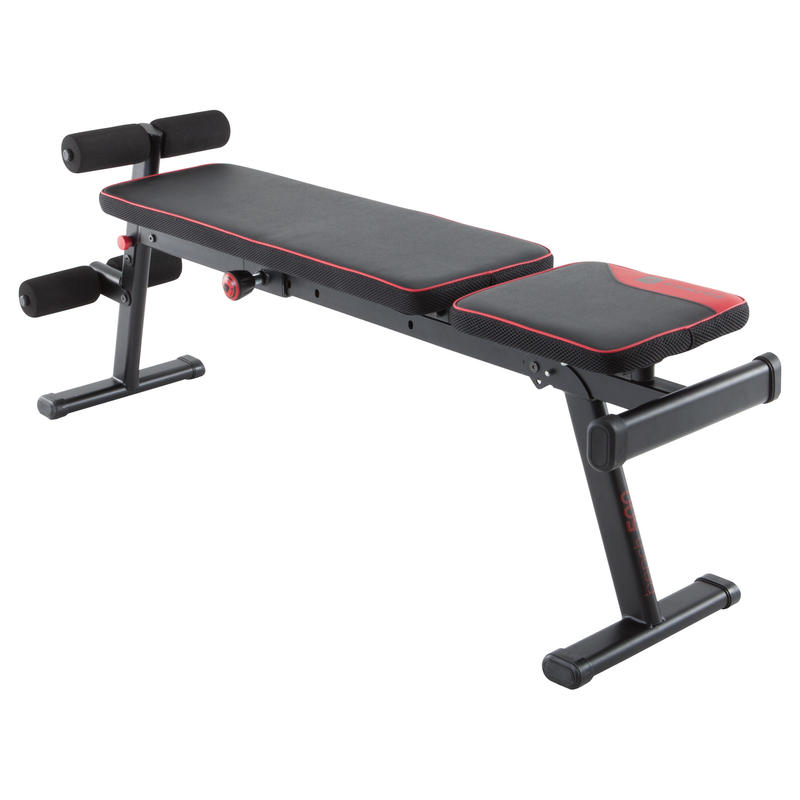 500 Fold-down Inclide weight bench