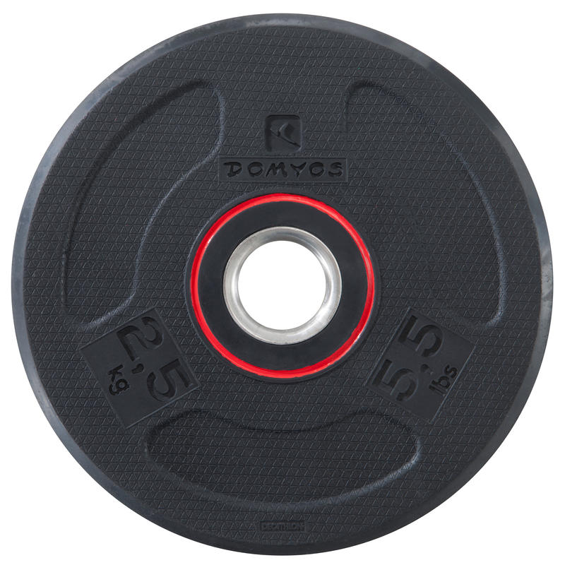 Rubber Weight disc 28mm 2.5kg
