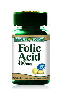 Folic Acid  400 mcg 250 tabs