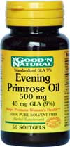 Evening Primrose Oil 500 mg 50 softgels